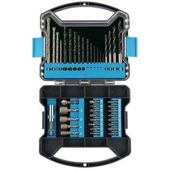 Draper Tools Zestaw wierteł i bitów, 41 elementów-Draper Tools
