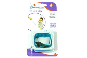Dreambaby, Opaska/Smycz na rękę nadgarstek, Niebieski-Dreambaby