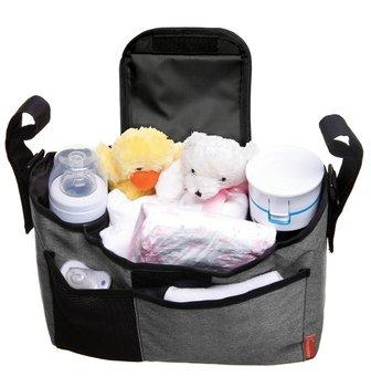 Dreambaby, Organizer na wózek, Szary-Dreambaby