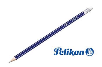 Drewniany ołówek HB z gumką, 1 szt, PELIKAN - HB-Pelikan