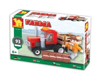 Dromader, klocki Farma - Traktor z przyczepą-Dromader