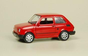 Dromader, Welly, FSO Fiat 126p., czerwony-Welly