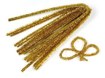 Drucik kreatywny, złoty, 10 sztuk