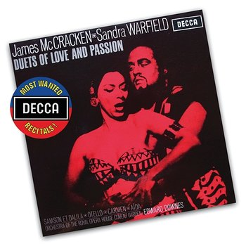 Duets Of Love And Passion-James McCracken, Sandra Warfield, Orchestra Of The Royal Opera House, Covent Garden, Sir Edward Downes