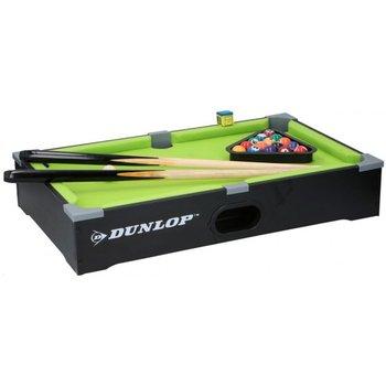 Dunlop, Mini stół do bilarda z akcesoriami, czarny-Dunlop