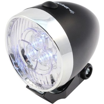 Dunlop, Przednia lampa, rowerowa, Retro 3 LED