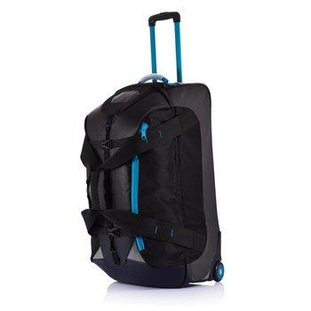 Duża torba sportowa, podróżna na kołach Czarna-XD COLLECTION