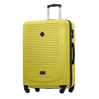 Duża walizka PUCCINI CORFU ABS016A 5 Limonkowa-PUCCINI