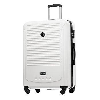 Duża walizka PUCCINI CORFU ABS016A 6 Biała-PUCCINI