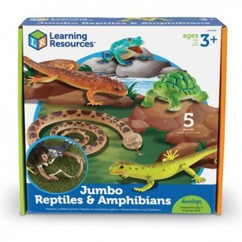Duże figurki, gady i płazy, zestaw i, 5 szt.-Learning Resources