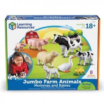 Duże figurki, mamy i dzieci, zwierzęta domowe,-Learning Resources