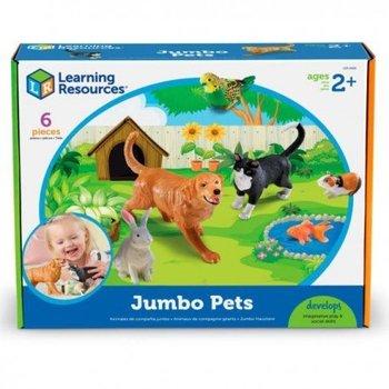 Duże figurki, zwierzęta domowe, zestaw 6 szt.-Learning Resources