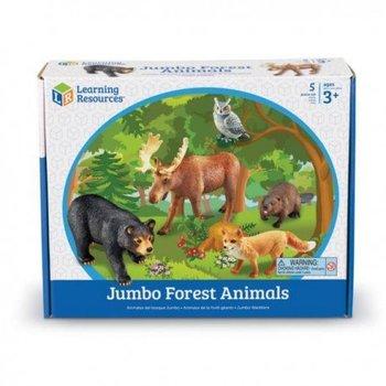 Duże figurki, zwierzęta leśne, zestaw 5 szt.-Learning Resources