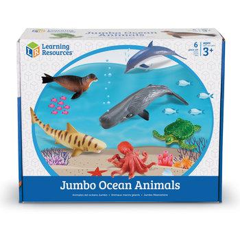 Duże Figurki, Zwierzęta, Ocean, Zestaw 6 szt.