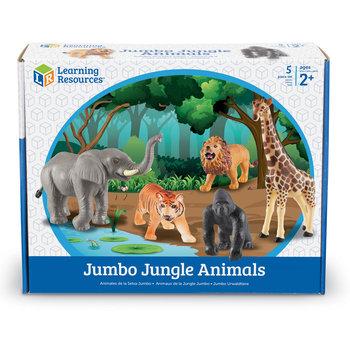 Duże Figurki, Zwierzęta, Safari, Zestaw 5 szt.
