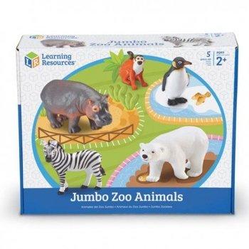 Duże figurki, zwierzęta w zoo, zestaw 5 szt.-Learning Resources