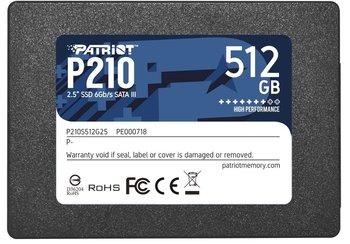 Dysk SSD 512GB P210 520/430 MB/s SATA III 2.5-Patriot