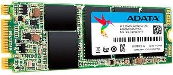 Dysk SSD ADATA Ultimate SU800 ASU800NS38-1TT-C, M.2 (2280), 1 TB, SATA III, 560 MB/s-Adata