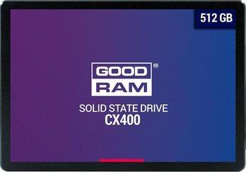 """Dysk twardy SSD GOODRAM CX400 SSDPR-CX400-512, 2.5"""", 512 GB, SATA III, 550 MB/s-GoodRam"""