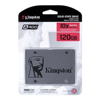 "Dysk twardy SSD KINGSTON A400 SA400S37/120G, 2.5"", 120 GB, SATA III, 500 MB/s-Kingston"