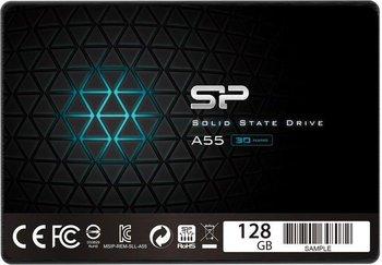 "Dysk twardy SSD SILICON POWER A55 SP128GBSS3A55S25, 2.5"", 128 GB, SATA III, 550 MB/s-Silicon Power"