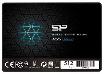 "Dysk twardy SSD SILICON POWER Ace A55 SP512GBSS3A55S25, 2.5"", 512 GB, SATA III, 560 MB/s-Silicon Power"