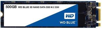 Dysk twardy SSD WESTERN DIGITAL Blue WDS500G2B0B, M.2 (2280), 500 GB, SATA III, 560 MB/s-Western Digital