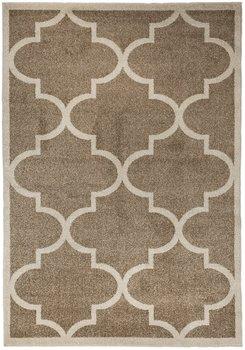 Dywan CARPETFORYOU Light Collection Talizman, brązowy, 80x150 cm-Carpetforyou