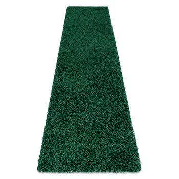 Dywan, Chodnik SOFFI shaggy 5cm butelkowa zieleń - do kuchni, przedpokoju, na korytarz, 80x250 cm-Dywany Łuszczów