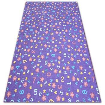 Dywan dla dzieci DYWANY ŁUSZCZÓW Numbers, fioletowy,  200x300 cm-Dywany Łuszczów