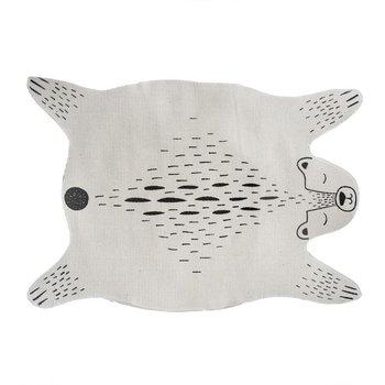 Dywan dla dziecka MIŚ, 90x60 cm, kolor beżowy-Atmosphera for kids