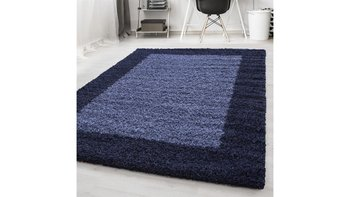 Dywan do salonu i sypialni Ayyildyz Hali Shaggy Granatowy (Navy Blue) LITE Prostokąt 160x230 cm-Ayyildyz Hali