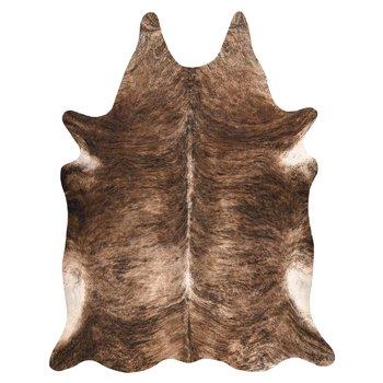 Dywan DYWANY ŁUSZCZÓW Sztuczna Skóra Bydlęca, Krowa G5068-1 Brązowa skórka, 100x150 cm-Dywany Łuszczów