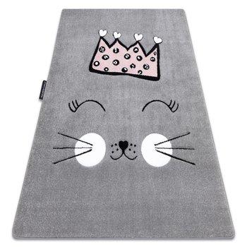 Dywan Petit Cat, Kotek Korona, szary, 120x170 cm-Dywany Łuszczów