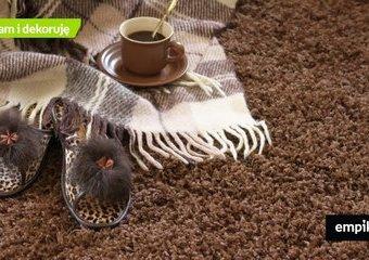 Dywan shaggy — jaki wybrać? Jak dbać o dywan z długim włosiem?