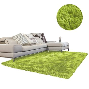 Dywan shaggy STRADO GreenGrass, zielony, 160x230 cm-STRADO