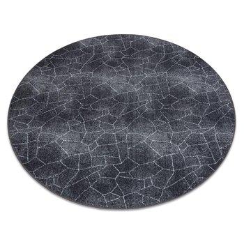Dywan STONE koło Kamień szary, koło 100 cm-Dywany Łuszczów