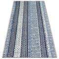 Dywan sznurkowy Sizal Color, 47276/396 Pasy, biały, 60x110 cm-Dywany Łuszczów