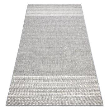 Dywan SZNURKOWY SIZAL FLAT 48829637 Jodełka szary, 140x200 cm-Dywany Łuszczów