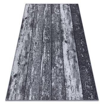 DYWAN - WYKŁADZINA antypoślizgowa WOOD drewno, deska szary, 100x250 cm-Dywany Łuszczów