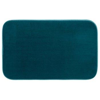 Dywanik łazienkowy TAPIS Memoi Forme, 80x50 cm, niebieski-5five Simple Smart