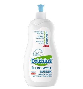 Dzidziuś, Hipoalergiczny żel do mycia butelek dziecięcych, 500 ml-Pollena