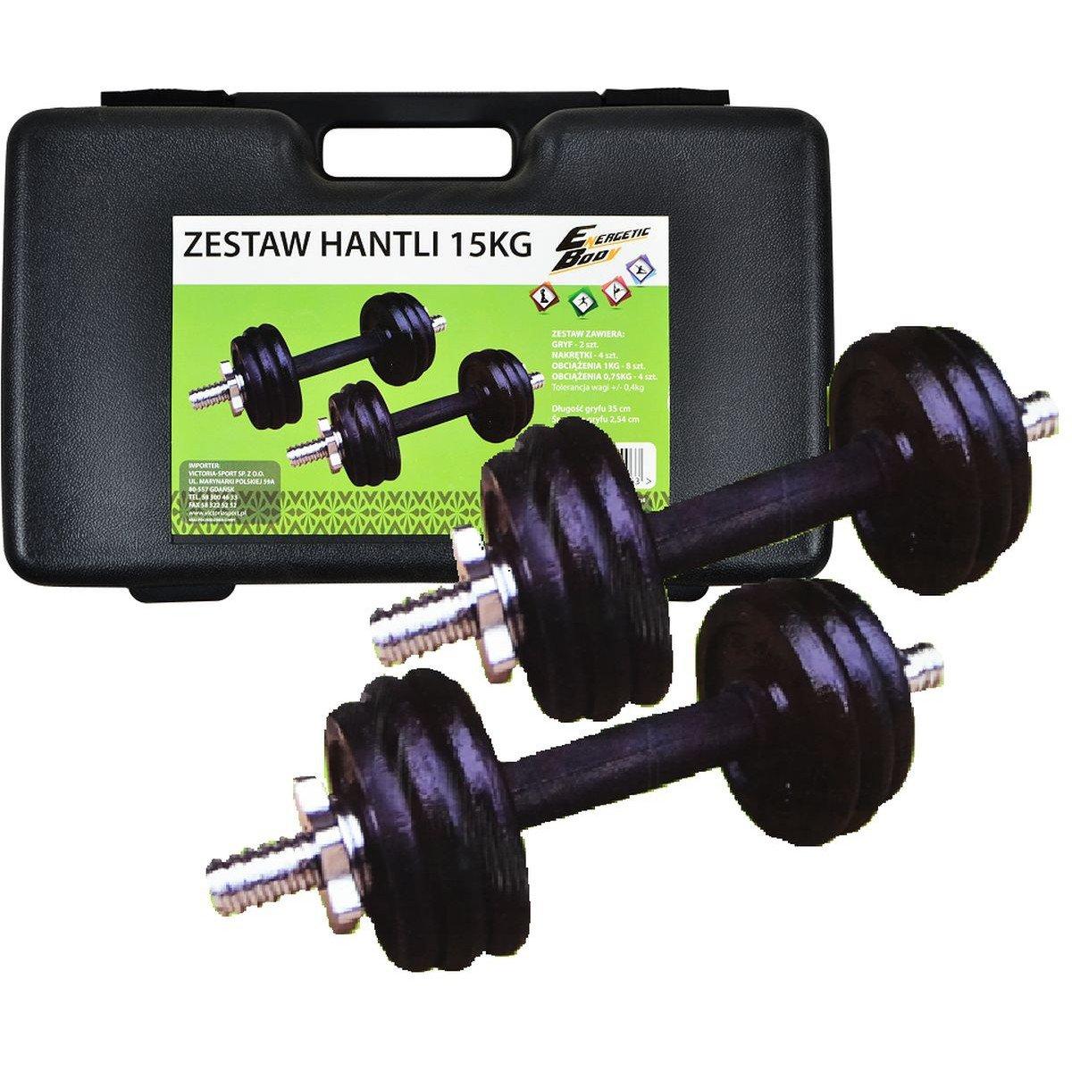 EB Fit, Hantla żeliwna, 11 kg
