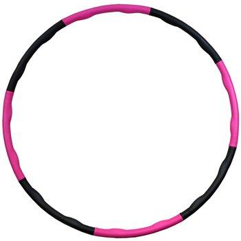 EB Fit, Hula hop z masażem neoprenowym, różowy, 95cm Eb fit-EB Fit
