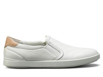 Ecco, Półbuty damskie, Leisure, biały, rozmiar 38-Ecco