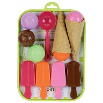 Ecoiffier, Smoby, zabawka edukacyjna Tacka z lodami-Smoby