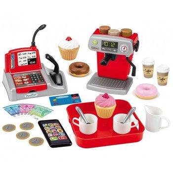 Ecoiffier, zabawka edukacyjna Mała kawiarnia z kasą-Ecoiffier