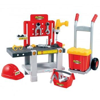 Ecoiffier, zabawka edukacyjna Warsztat 4w1-Ecoiffier
