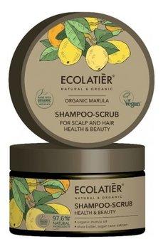 Ecolatier Marula Szampon-peeling do skóry głowy i włosów Zdrowie i Piękno 250ml-Ecolatier