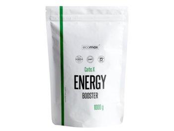 Ecomax, Węglowodany i izotoniki, Carbs X Energy Booster, 1000 g, wiśnia-Ecomax